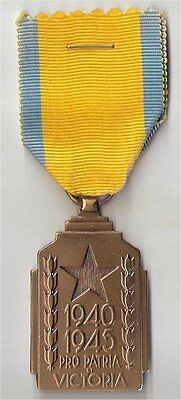 Belgium 1940-1945 Colonial War Effort Medal