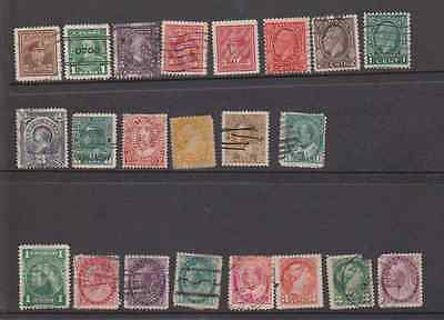 CANADA Old Stamps Queen Victoria onwards  BARGAIN