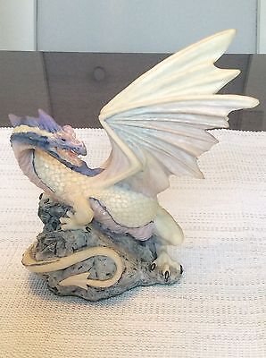 """Enchantica """"Ice Dragon"""" 1 Year only promotion piece - RARE"""