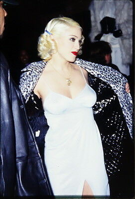 23 35mm Color Photo Slide Pictures of Madonna - Madonna's Pajama Party - WOW!