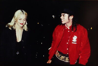 23 35mm Color Photo Slide Pictures of Madonna and Michael Jackson