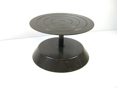 Metal Pottery Banding Wheel Potters Turntable Craft Decorating Wheel