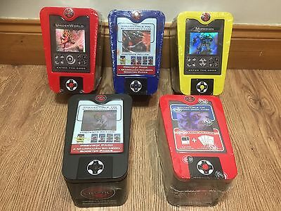 Chaotic Trading Card Game Scanner Deck Case Wholesale Job Lot Bundle x5 New Tins