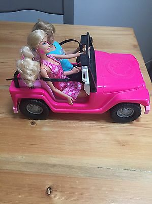 Barbie And Ken Beach Cruiser Jeep