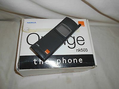 BOXED Working Retro NOKIA nk503 NHK-6RY Mobile Phone Clean GENUINE Banana Matrix