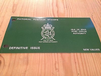 Isle of Man 1975 Stamp Presentation Pack: Definitive Issue - New Values