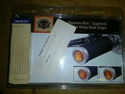 Harley davidson electra glo lighted hand end caps