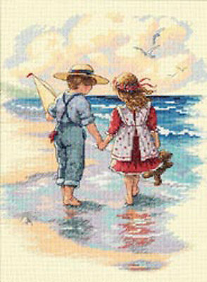 "Holding Hands Counted Cross Stitch Kit-9""X12"""