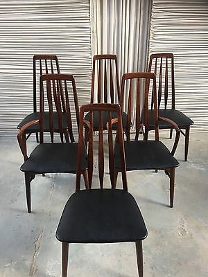 Danish Rosewood Eva Chairs