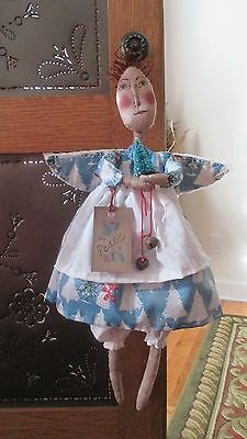 Folk Art Angel, Primitive, Handmade, Christmas