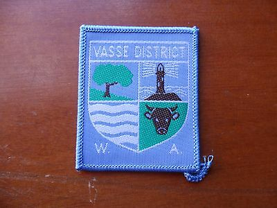 Vasse District Western Australia  Scout Cloth Badge