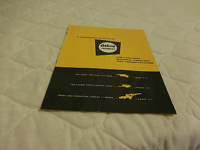 1954 Athey Products Condensed Catalog Sales Brochure