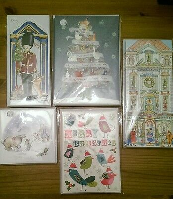 5 packs of Christmas Cards - Phoenix Trading
