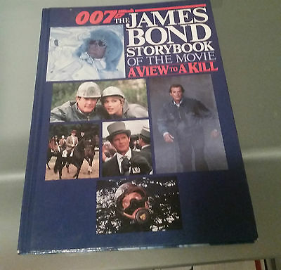 James Bond 007 Storybook A View To A Kill Hardcover