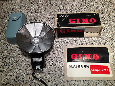 Collectable Vintage GINO Flash Unit COMPACT BC