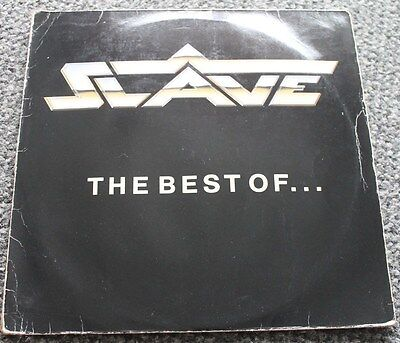 SLAVE * THE BEST OF * Classic Soul Funk Boogie Vinyl Album LP