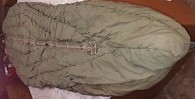 Extreme cold weather Artic sleeping bag US Army military Issue feathers M1949 G