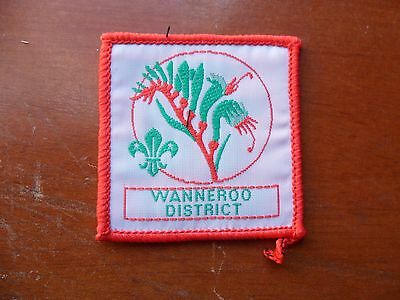 Wanneroo District Australia Scout Cloth Badge