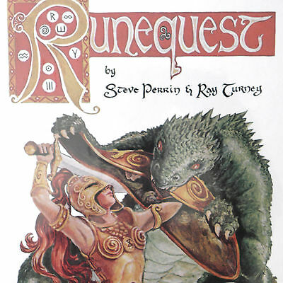 RUNEQUEST — Hardcover plus EXTRAS in Shrink — CLASSIC EDITION / II 2 Screen
