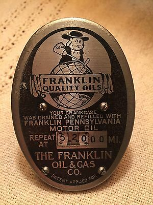 Franklin Oil And Gas Co. Oil Change Reminder