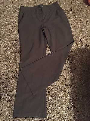 Ladies Grey Work Pants Trousers Size 12
