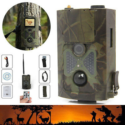 HC-500M Animal Hunting Digital Trail Camera HD 12MP GPRS GSM SMS Infrared Scout