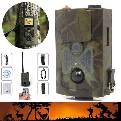 HC-500M HD Animal Hunting Digital Trail Camera 12MP GPRS GSM SMS Infrared Scout