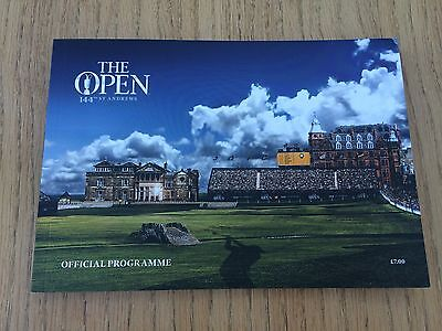 NEW The Open Golf Championship 144th St Andrews 2015 Official Programme