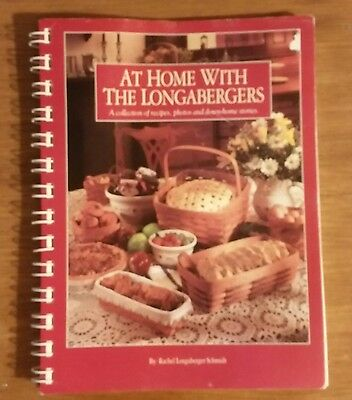 Longaberger Cookbook At Home With The Longabergers Recipes Stories Photos