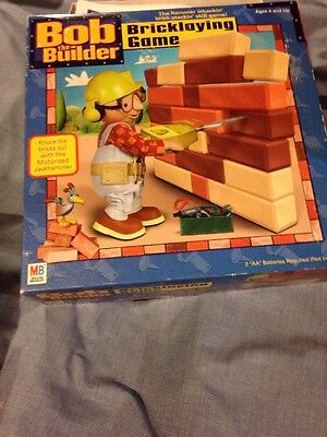 Bob The Builder Bricklaying Skill game with jackhammer Pieces And Parts