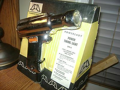 Big A Auto Parts Power Timing Light On Store Display Box Model 370-8