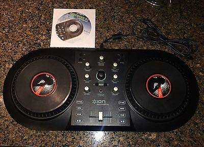 ION Discover DJ Computer Music Mixer, Software included MINT condition