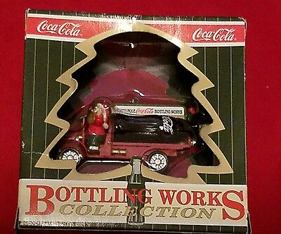 COCA-COLA BOTTLING WORKS COLLECTION ORNAMENT New in Box