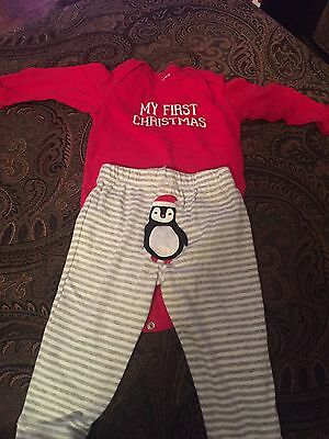 Boys Carter's My first christmas outfit 12 months