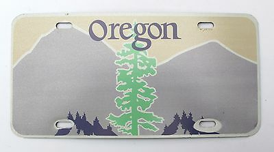 """Blank Oregon """"Tree"""" license plate (Astrographic Collection)"""