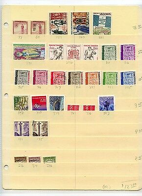 Weeda Andorra 37//563, J2/J16 Mint/Used Collection, 1932-2002 period CV $123.60