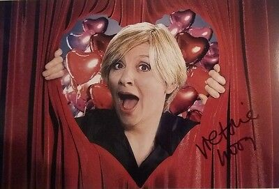 Victoria Wood Signed 12x8 Photo