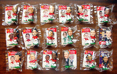 MANCHESTER UNITED - 2008 Champions Team set 16 Prostars figures