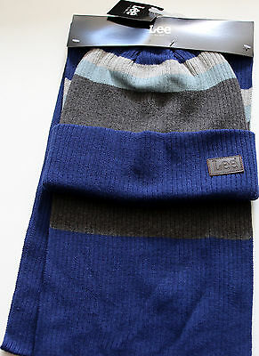 Lee 100% AUTHENTIC winter SCARF HAT set moreStyles available $35 MSRP