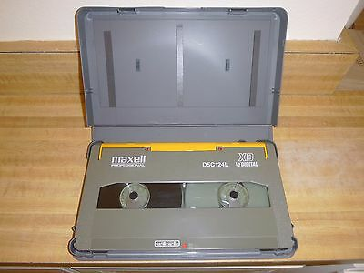 124 Minute D-5 Digital High Definition Video Tape With Case - Look!