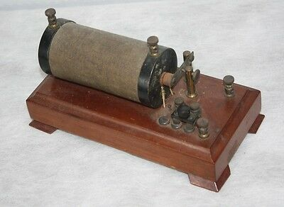 1800's Induction Spark Coil Quack Medical Electrical Shock Device Wireless Radio