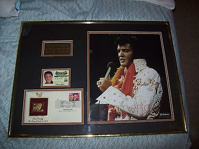 Elvis Presley Display frame 23x17
