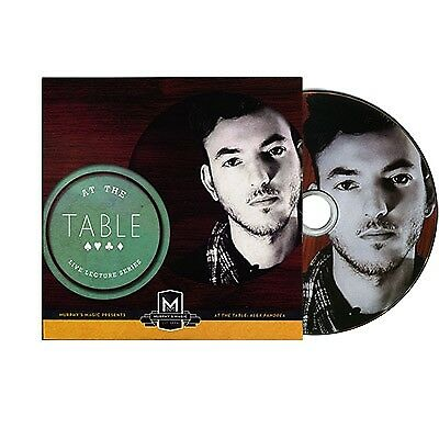 AT THE TABLE Alex Pandrea (DVD)