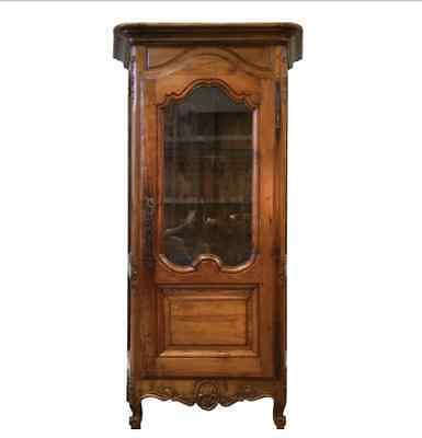 French Antique Curio Cabinet China Cabinet Display Cabinet