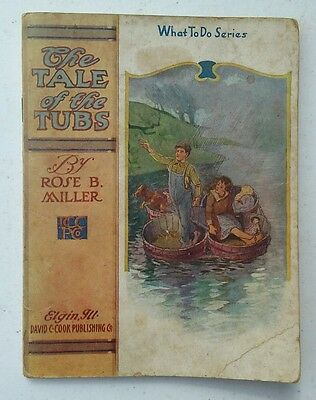 c1912 vintage What To Do Series The Tale of the Tubs Lewis B Miller book