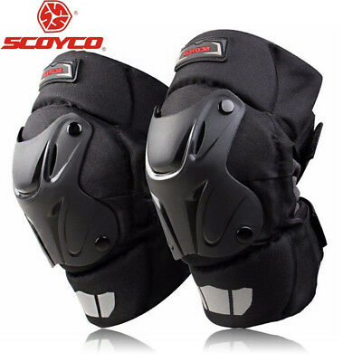 SCOYCO Motorcycle Racing Riding Knee Guard Protective Pad Armor Off-Road Gear