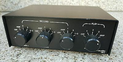 NILES TSB-3 Tape Recorder Switcher SELECTION Selector Control