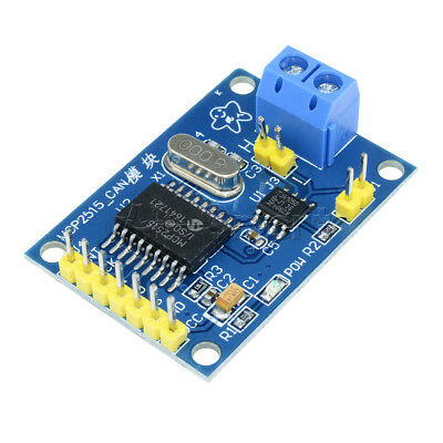 New MCP2515 CAN Bus Module Board TJA1050 receiver SPI For 51 MCU ARM controller