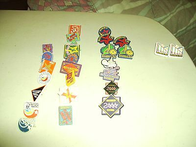Vintage Chattanooga Riverbend Pin Collection (27 pins)