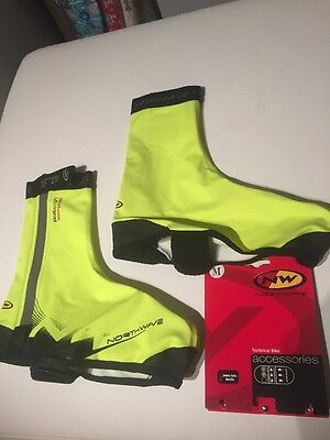 Northwave H20 Winter Shoecover Yellow Fluo /Black M Bootie Cycle Bike Commuting